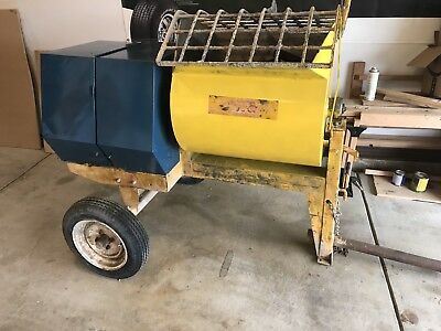 Mortar Stone 755PM Concrete Mixer GX240 Honda Stucco Tow BEST OFFER