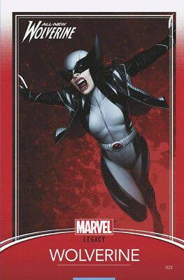 ALL NEW WOLVERINE #25 LEGACY CHRISTOPHER TRADING CARD VARIANT NM 1st Print