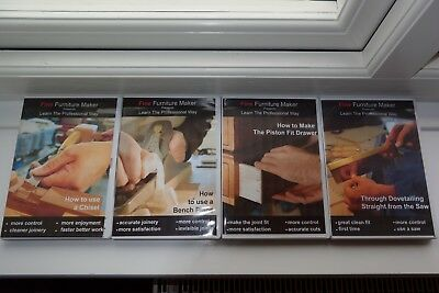 Fine Furniture Maker - Learn the professional way woodworking DVDs