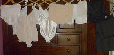 Vintage + Modern Lot Of Full Corsets Control Knickers + Playsuits Szl-Xl
