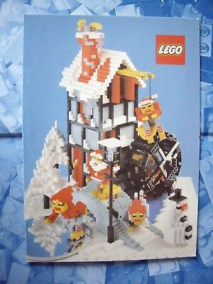 Lego - The Lego Club - Christmas Card - Winter Ski Chalet