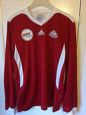 2013 SK Glovik Lyn football shirt Adidas Medium men's rare vintage Norway