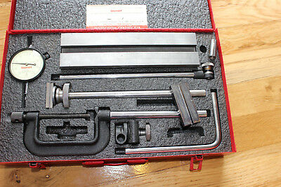 Starrett Inspection Set 655 Series Inspection Holder and Dial Indicator in Case.