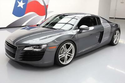 2008 Audi R8 Base Coupe 2-Door 2008 AUDI R8 QUATTRO AWD 420HP R TRONIC LEATHER NAV 43K #002749 Texas Direct
