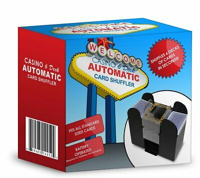 Casino 6-deck Automatic Cards Shuffler Shuffling Machine Professional Playing
