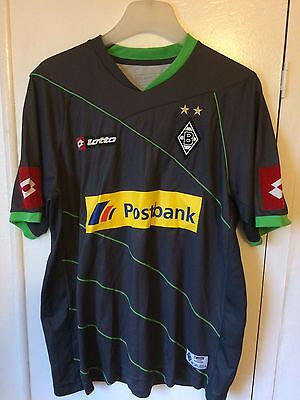 2009/2010 Borussia Monchengladbach football shirt Lotto large men's rare