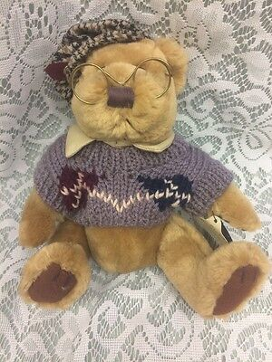 """Brass Button Bear Premier Collection 1996 """"Sherwood, The Bear of Long Life"""""""