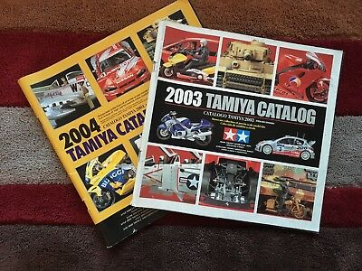 2003 & 2004 Tamiya Catalogues - Showcase collection of precise scale model kits
