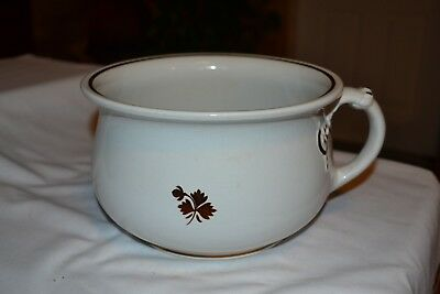 Tea Leaf Ironstone Chamber Pot
