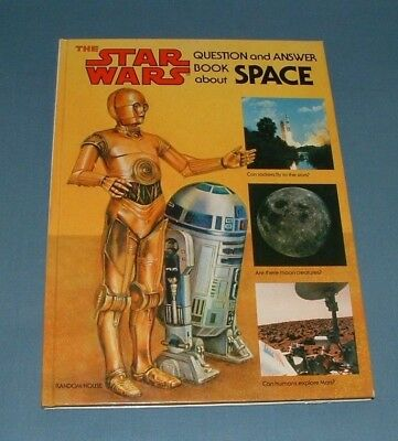 Star Wars, Question & Answer Book About Space - Random House - 1979