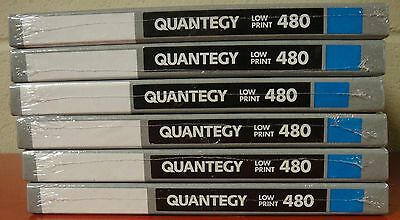 6 X Quantegy 480 Low Print Mastering Audio Tape - New