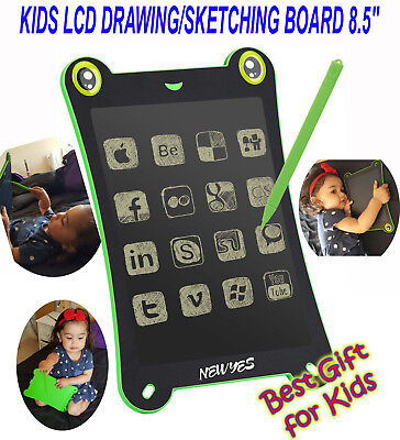 Lcd Drawing/sketching Board 8.5'' Tablet E Writing Notepad,e- Pen, Kids Hottest!