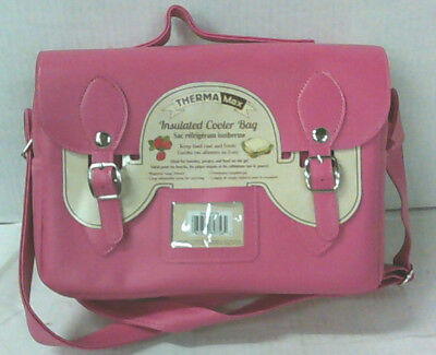 NEW ThermaMax Stylish Insulated Cooler Lunch Bag Fuchsia $37.99