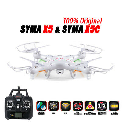 100% Original SYMA X5C RC Drone 6-Axis Remote Control Helicopter