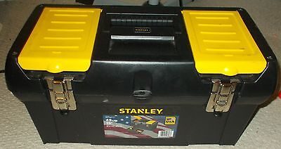 Stanley Tool Box Full Of Tools New Used Allen Keys Mastercraft Sockets Wrenches