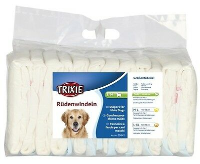 Trixie rüdenwindel Dog Diaper New in different sizes Diapers for Dogs Male