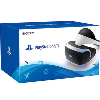 Playstation Virtual Reality (PSVR) Headset + all cables + box (great condition)