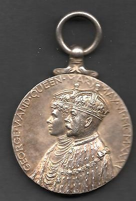 1935  - King George V - Silver Jubilee Medal (.925 Silver) - Great Britain