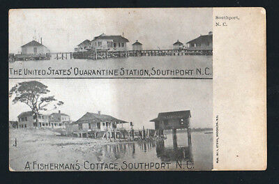 Southport, NC - Quarantine Station and Cottage