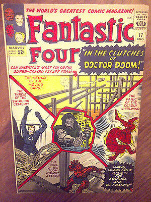 Fantastic Four  #17 F/VF