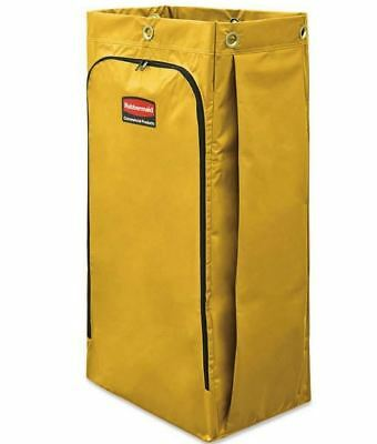 Rubbermaid Commercial Vinyl Cleaning Cart Bag for Janitorial Carts -  26 gal