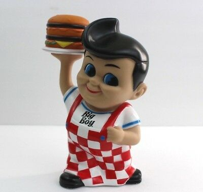Big Boy Burger Frisch's Restaurant Plastic Coin Bank Vinyl Figure Collectible 8""