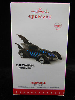 Hallmark Keepsake 2015 Batmobile Batman Forever Ornament NIB