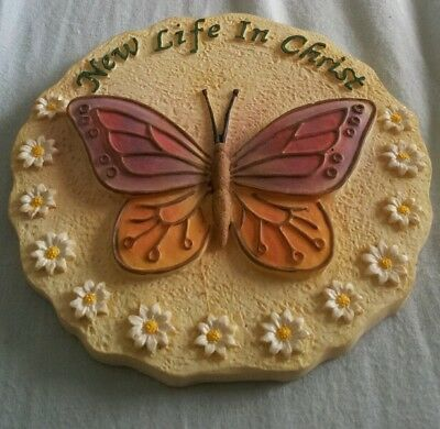 New life in christ plaque