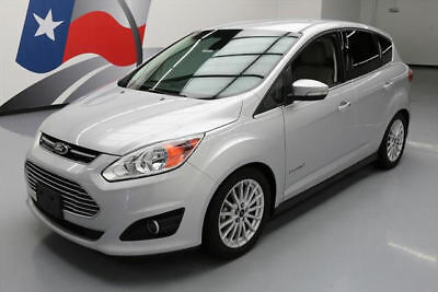 2014 Ford C-Max Hybrid SEL Hatchback 4-Door 2014 FORD C-MAX SEL HYBRID NAV REAR CAM HTD LEATHER 40K #508748 Texas Direct