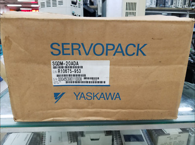 1pcs New Yaskawa SGDM-20ADA Servo Drive In Box