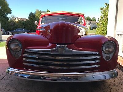 1948 Ford Convertible  Chopped Ford 1948 convertible Kustom Cab coupe 1947 1946