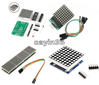 MAX7219 8x8 LED Punkt Matrix Modul Dot Matrix Module for Arduino Raspberry Pi UK
