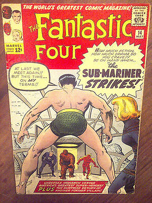 Fantastic Four  #14 VF