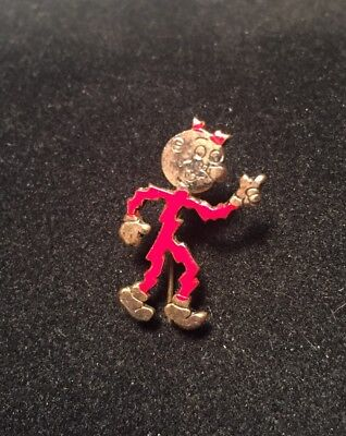 Reddy Kilowatt 1950s Electric Utilities Advertising Stick Lapel Pin Marked M.R.