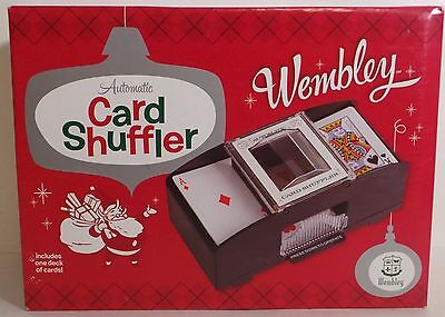 Casino Automatic Deck Card Shuffler Poker Texas Hold'em Black Jack ~Wembley Gift