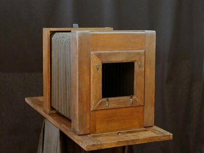 absolute stunning!! Antique 8x10 Studio Camera Holzkamera 18x24 ULF wet plate