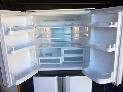 Sharp French Door 602 Litre Refrigerator. Good Working Condition.