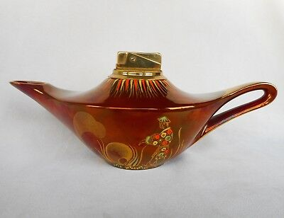 A Carlton Ware  ' Aladin ' Shaped Lighter ~ A Lovely Display Item !