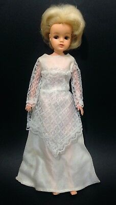 Vintage 60's blond Sindy doll marked Sindy no. 0330557 hair has been cut