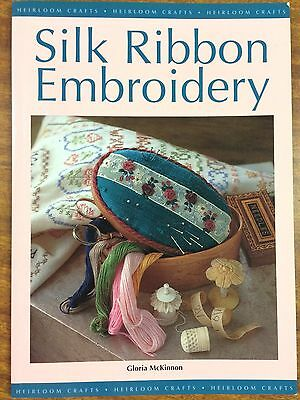 Silk Ribbon Embroidery by Gloria McKinnon