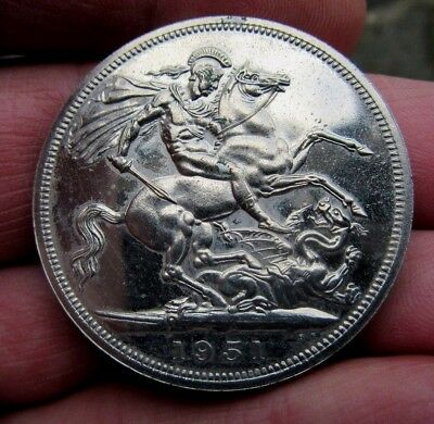 1951 Festival of Britain Crown King George Vi th Good Grade