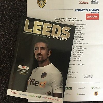 Leeds United Home Programme