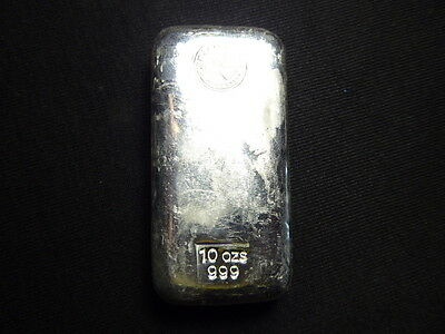 Perth Mint 10 oz 999 Silver Bullion Bar
