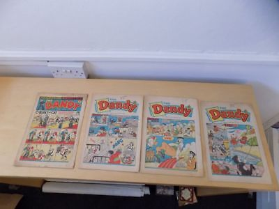 Lot of Vintage DANDY Comics no 479 Jan 27th 1951 no 1887 1393 1404 from1968