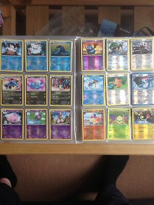 216 Holo Pokemon Cards In Folder