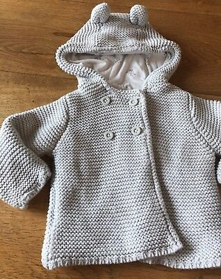 M&S Coat/ Cardigan- Boys Or Girls - 3-6 Months