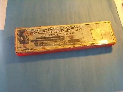 "1930's ""MECCANO"" SET 1a COMPLETE IN ORIGINAL BOX WITH MANUAL"