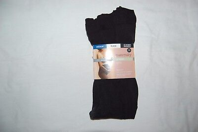 M&S Maternity Tights Black Opaque 40 Denier Size Medium BNWT