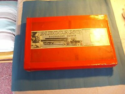 "1930's ""MECCANO"" SET 3a  COMPLETE IN ORIGINAL BOX WITH MANUAL"