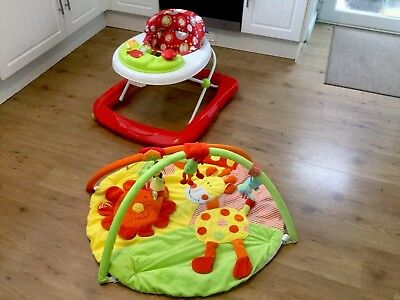 Red Kite Baby Walker and Play Mat